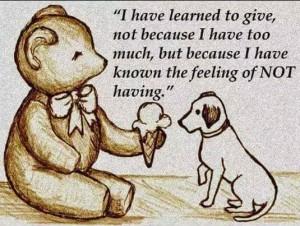 Caring Teddy